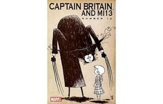 The 50 Best Comic Book Covers of 2009 | Complex.com #britain #book #captain #wolverine #comic #gorey #marvel #edward