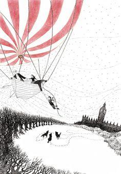 Rohan Daniel Eason - #balloon #illustration #flight