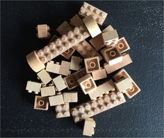 Eco-bricks play set