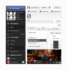 Youtube ui psd Free Psd. See more inspiration related to Video, Youtube, Ui, Psd, Google and Vertical on Freepik.