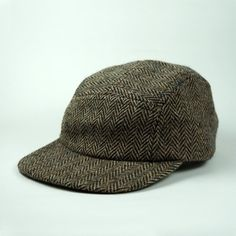 Fairends — Tweed Camp Cap Adult #fashion #cap #tweed