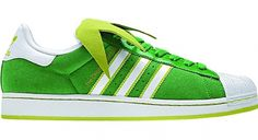 "adidas Superstar II ""Kermit The Frog""   CounterKicks"