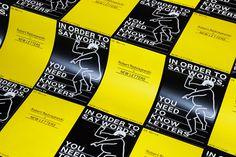 Mindsparkle magazin NEW LETTERS font typography tilde print yellow black type design