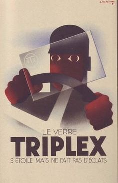 Triplex | CASSANDRE #book #illustration #vintage #type #typography