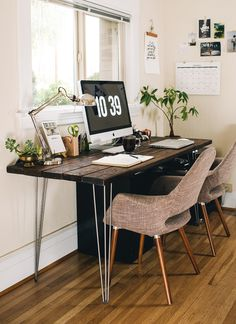 Julia Manchik's workspace