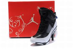 Nike Air Jordan 3.5 Heels Black/White #shoes