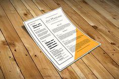 Joy Resume Template - Free Resume Template | Smashresume
