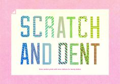 Scratch #print #color #poster #music #sale