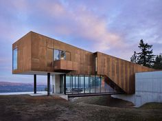 Rimrock - Impressive Modern House in Washington by Olson Kundig 2