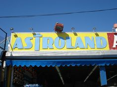 CONEY ISLAND VERNACULAR TYPOGRAPHY #sign