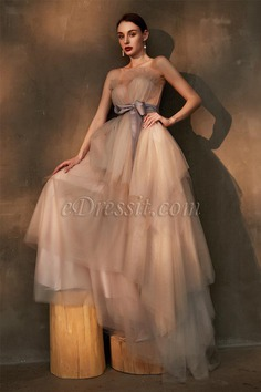 eDressit New Ruffle Corset Elegant Long Tulle Party Evening Dress (02201308)
