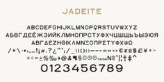 Jadeite typeface (font) designed by Thoma Kikis. Teknike.com - #jadeite #typeface #font #kikis #thomakikis #sans #capitals #caps #midcentury #midcenturymodern #lettering #greek #latin #hebrew #cyrillic #teknike