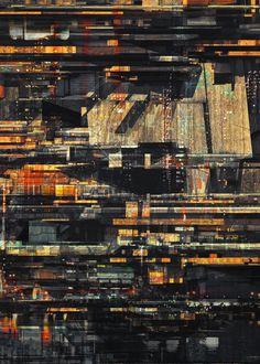 CJWHO ™ (MEGA CITIES by atelier olschinsky) #design #illustration #architecture #art #olschinsky