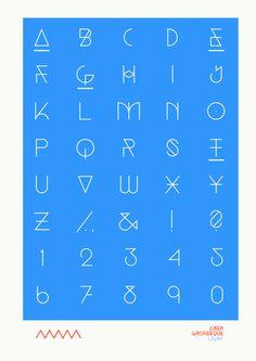Grotesque on Behance #grotesque #typography