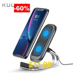 KUULAA #Qi #Wireless #Charger #10W #Fast #Wireless #Charging #Dock #Station #Phone #Holder #Charger