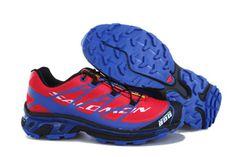 Salomon S-LAB XT5 Pink Blue Running Shoe #shoes