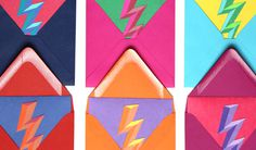 #lightning bolt #color #paper #layered paper #texture #bright #photo #photography #composition #balance #greeting cards #bevel #icon #iconic