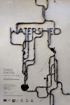 WATERSHED, DARK MATTER by Pamela Campagna #design #graphic #quality