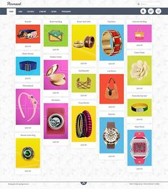 Pinterest virtuemart Template - Pinmart #template #pinterest #virtuemart