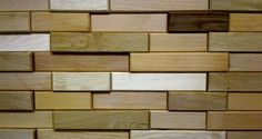 Everitt & Schilling Tile | Handmade Eco Friendly Wood Wall Tiles #wood #tile