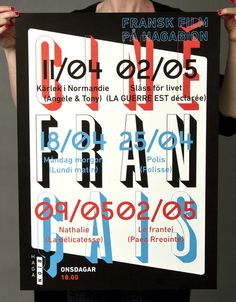 Hagabion Eric Palmér Graphic Design / Grafisk Design #design #poster #typography