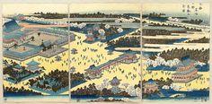 Search of Art Archive - artelino #kawanishi #ueno #print #hide #woodblock #japan #panoramic