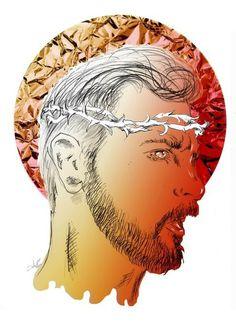 We all are like Jesushttps://www.facebook.com/Mateusz.Suda.llustartions #suda #mateusz #project #illustrator #design #graphic #illustrations #ilustracja #moda #polak #sztuka #mateuszsudacom #art #polska #poland #logo #victim #artysta #artis #fashion