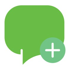 See more icon inspiration related to chat, conversation, message, speech bubble, speech balloon, chatting, interface and multimedia on Flaticon.