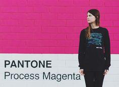 Pantone Wall. #photography #pantone #cmyk