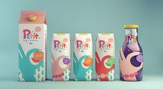 Petit Natural Juice packaging