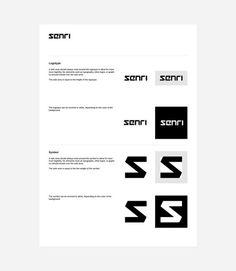 Senri identity design