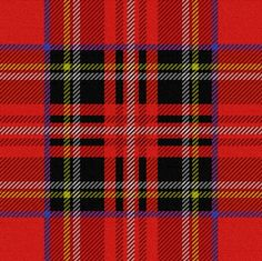 Royal Stewart Tartan - peacoquettedesigns - Spoonflower #tartan #plaid #textile