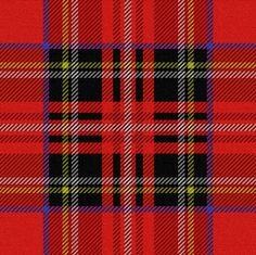 Royal Stewart Tartan - peacoquettedesigns - Spoonflower #tartan #plaid #textile