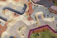 Marina Triangle Reserve #skatepark #aerial