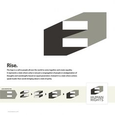 Logo Design Challenge For Human Rights #graphic design #logo design #human rights