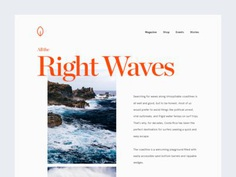 All the Right Waves