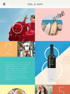 Sol & Sun - Amy Martino - Design + Art Direction #wine
