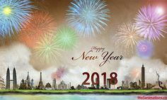 Happy New Year 2018 Walls Hd Background For Pc – WallpapersBae