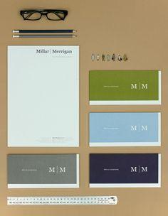Studio Constantine » Millar Merrigan + Studio Constantine #print #color #brand #identity #studio #stationery #single #constantine
