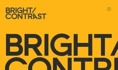 Brand design for Bright/Contrast