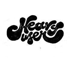Tumblr #user #lettering #typography #type #heavy