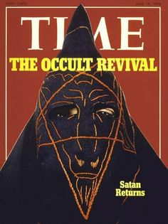The Brother From Down Under #occult #cover #time #magazine #satan