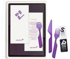 Bibliotheque Design - Virgin Atlantic Meal Service