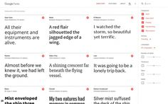 https://fonts.google.com new google fonts typography online font