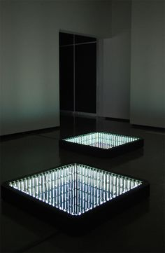 iván navarro: heaven or las vegas #mirror #light
