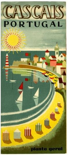 FOTOLITO — The summer smiles, the summer knows #illustration #beach #portugal