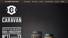 Showcase Of Delicious Coffee Websites | Smashing Magazine #coffee #design #web #typography