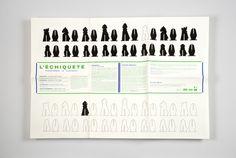 Echiqueté | tabaramounien, atelier de design graphique depuis 2007 #chess #print #tabaramounien #layout #paper