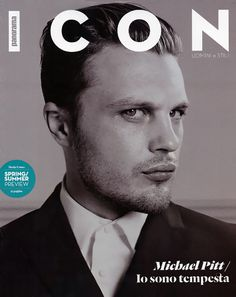 Michael Pitt Icon 03 #icon #cover #fashion #man #magazine