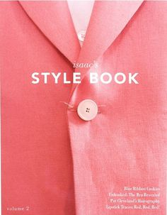 Style Book #book #style #pink